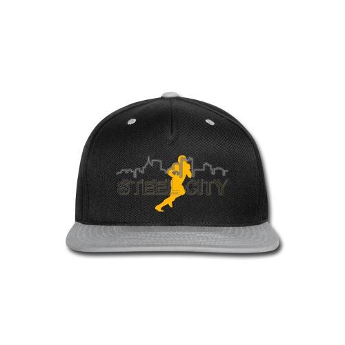 STEEL City Football Player - Snap-back Baseball Cap