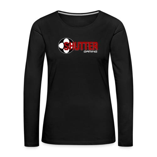 Shutter Gaming Women's Tee - Women's Premium Long Sleeve T-Shirt