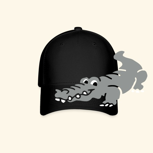 Alligator Croc by patjila2 - Baseball Cap