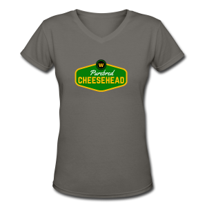 Pure Cheese  - Women's V-Neck T-Shirt