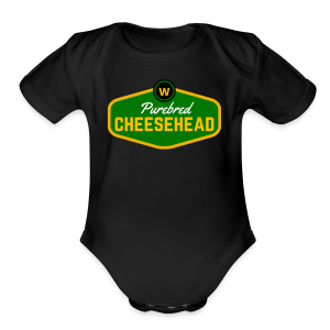 Pure Cheese  - Short Sleeve Baby Bodysuit