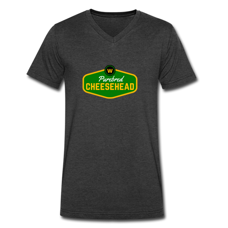 Pure Cheese  - Men's V-Neck T-Shirt by Canvas