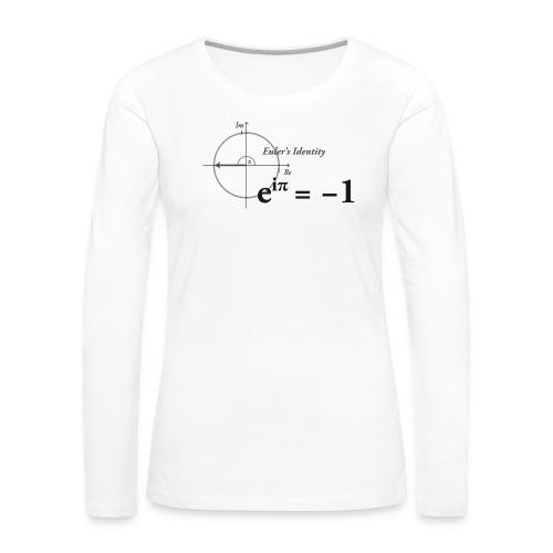 Euler's Identity Formula - Women's Premium Long Sleeve T-Shirt