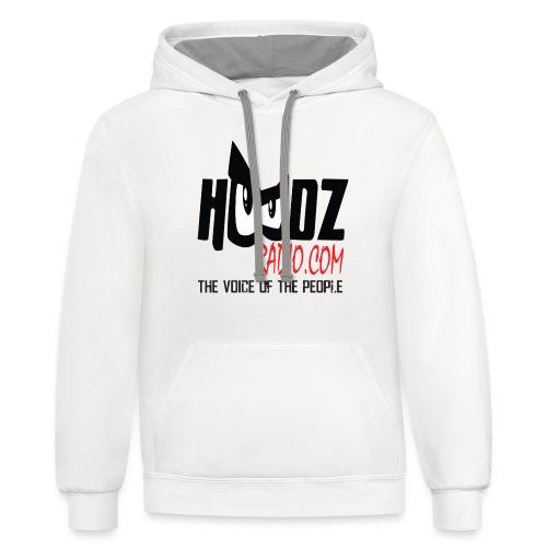 HOODZ TEE SHIRT - Contrast Hoodie