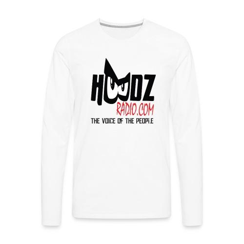 HOODZ TEE SHIRT - Men's Premium Long Sleeve T-Shirt