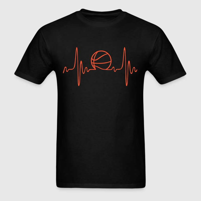 Basketball - Heartbeat - Men's T-Shirt