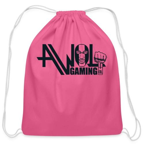 AWOL GAMING CO. LOGO  - Cotton Drawstring Bag