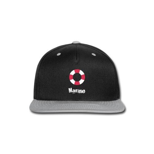 Marine - Snap-back Baseball Cap
