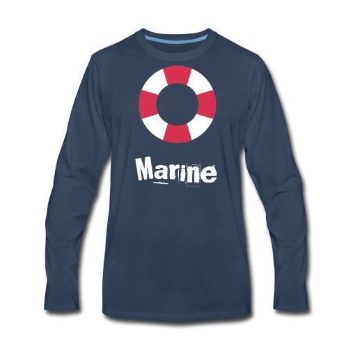 Marine - Men's Premium Long Sleeve T-Shirt