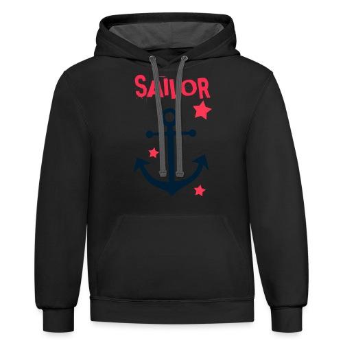 Sailor - Contrast Hoodie