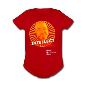 Joel Is an Intellect - Short Sleeve Baby Bodysuit