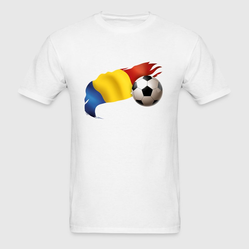 Romania Soccer - Men's T-Shirt