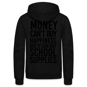 Addicted to School Supplies - Unisex Fleece Zip Hoodie