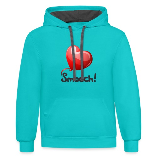 Smooch Balloon - Contrast Hoodie