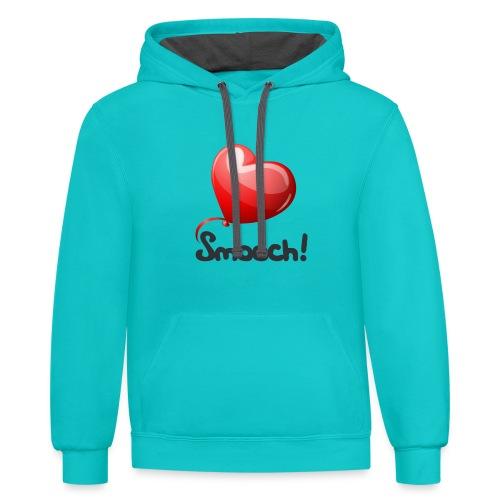 Smooch Balloon - Contrast Hoodie