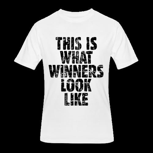 Winner T-Shirt S-5X Vintage/Black - Men's 50/50 T-Shirt