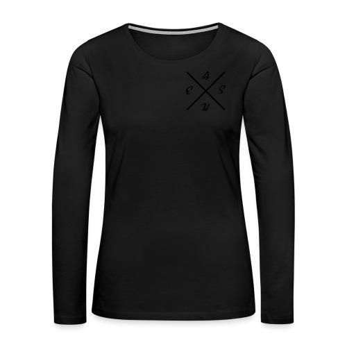 Women's Eash Tee - Women's Premium Long Sleeve T-Shirt