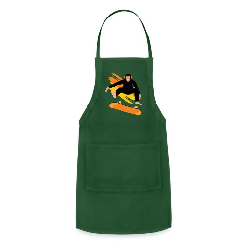 Monkey on the skateboard - Adjustable Apron