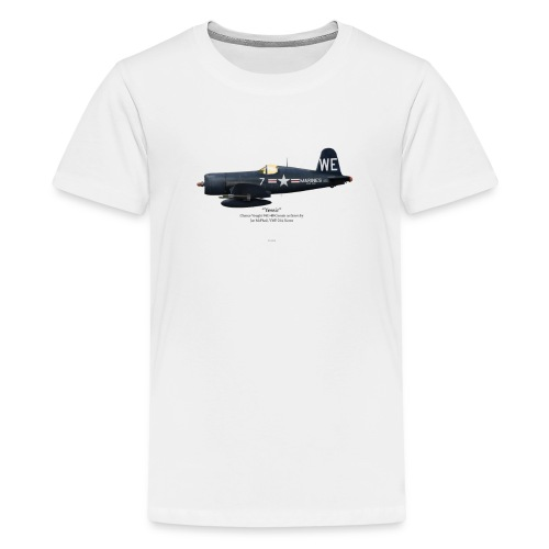F4U-4 Corsair - McPhail - Kids' Premium T-Shirt