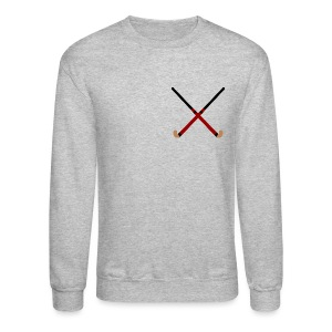 Crossed Field Hockey Sticks - Crewneck Sweatshirt