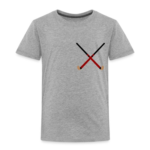 Crossed Field Hockey Sticks - Toddler Premium T-Shirt