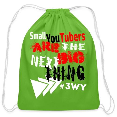 The Next Big Thing! - Cotton Drawstring Bag