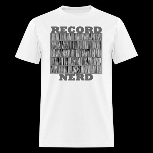 Record Nerd - Men's - Men's T-Shirt
