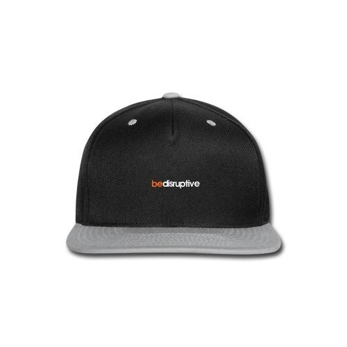 bedisruptive - black - Snap-back Baseball Cap