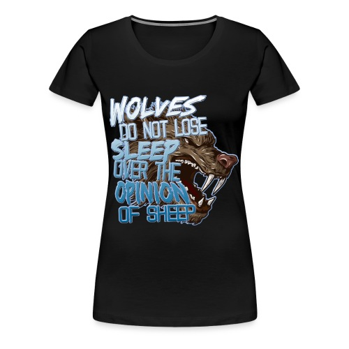 Wolves - Women's Premium T-Shirt