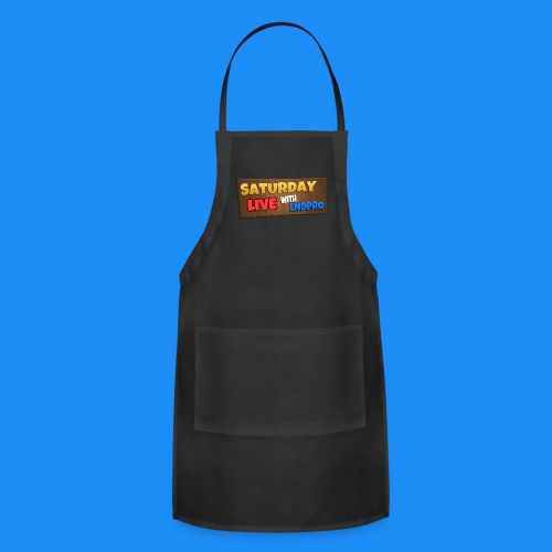 SATURDAY LIVE with LnDPro Man's T-Shirt - Adjustable Apron