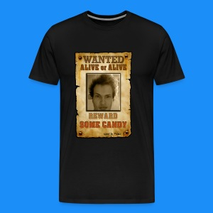 WANTED: Lukas - Alive or Alive! Reward: Some Candy (Man's T-Shirt) - Men's Premium T-Shirt