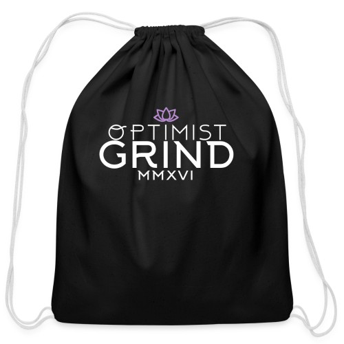 Optimist Grind - Cotton Drawstring Bag