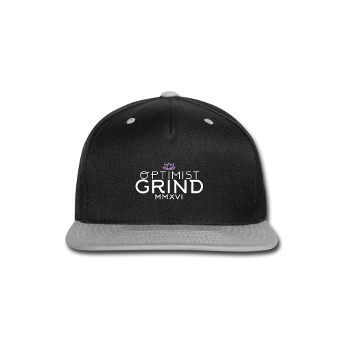 Optimist Grind - Snap-back Baseball Cap