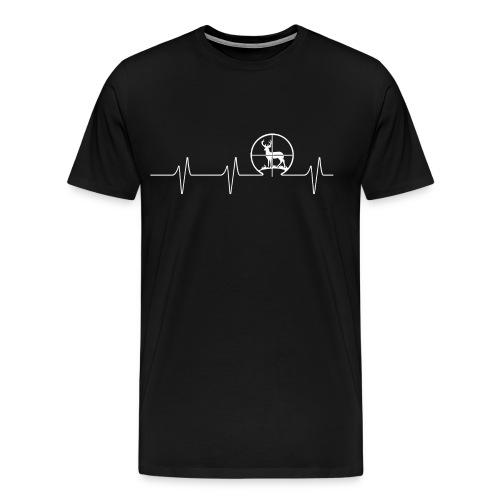 Hunting Deer - Beat - Men's Premium T-Shirt