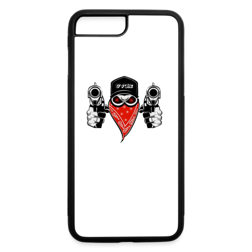 gun - iPhone 7 Plus/8 Plus Rubber Case
