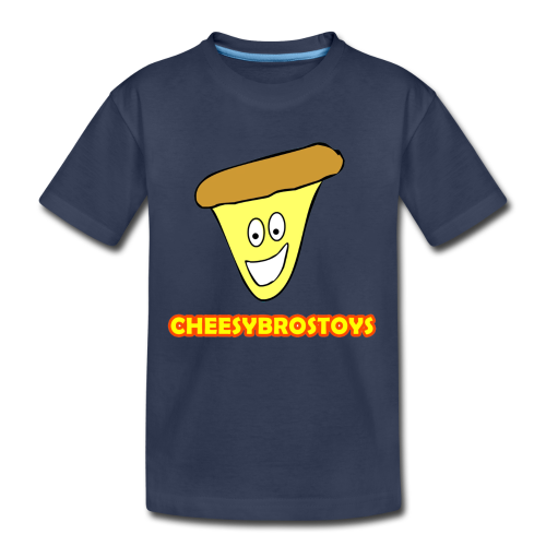 CheesyBrosToys Kid's Shirt (Assorted Colors Available) - Toddler Premium T-Shirt