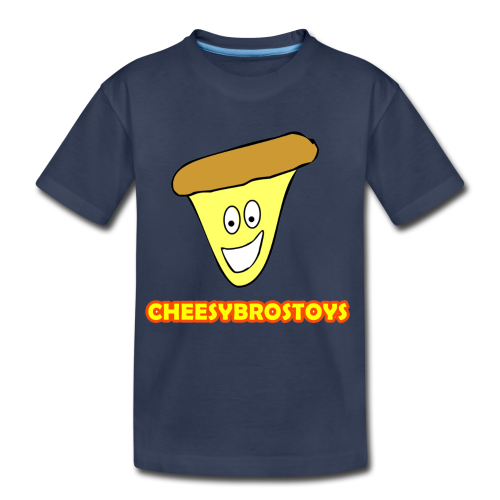 CheesyBrosToys Kid's Shirt (Assorted Colors Available) - Kids' Premium T-Shirt