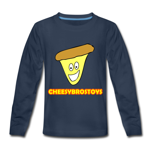 CheesyBrosToys Kid's Shirt (Assorted Colors Available) - Kids' Premium Long Sleeve T-Shirt