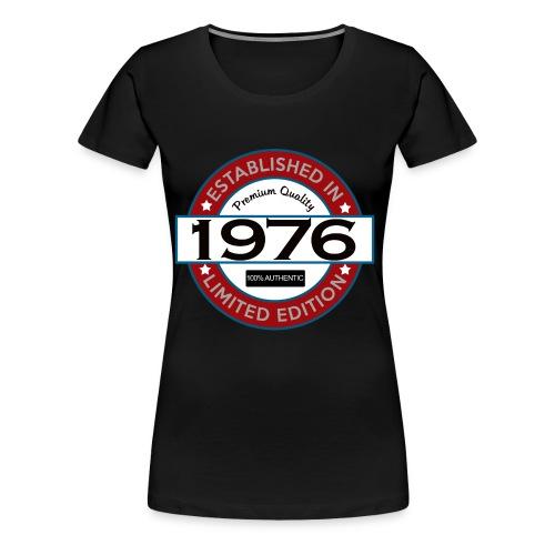 1976 Birthday Shirt - Women's Premium T-Shirt
