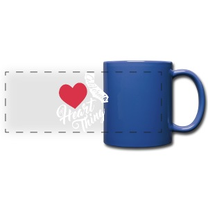 It's a Heart Thing California - Full Color Panoramic Mug
