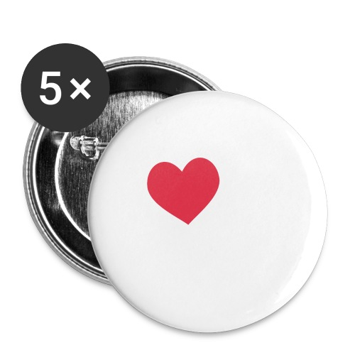 It's a Heart Thing California - Large Buttons