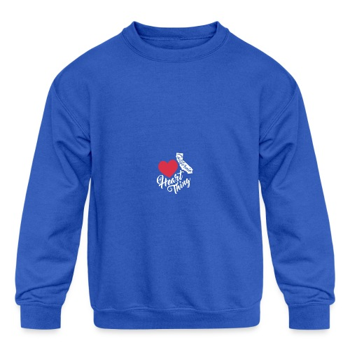 It's a Heart Thing California - Kids' Crewneck Sweatshirt