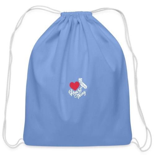 It's a Heart Thing California - Cotton Drawstring Bag