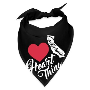 It's a Heart Thing California - Bandana
