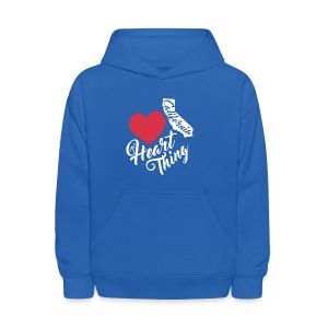 It's a Heart Thing California - Kids' Hoodie