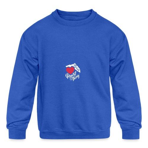 It's a Heart Thing Florida - Kids' Crewneck Sweatshirt