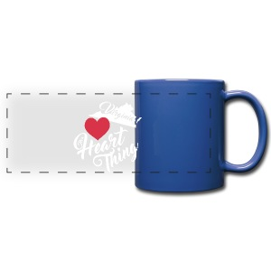 It's a Heart Thing Virginia - Full Color Panoramic Mug