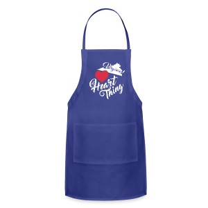 It's a Heart Thing Virginia - Adjustable Apron