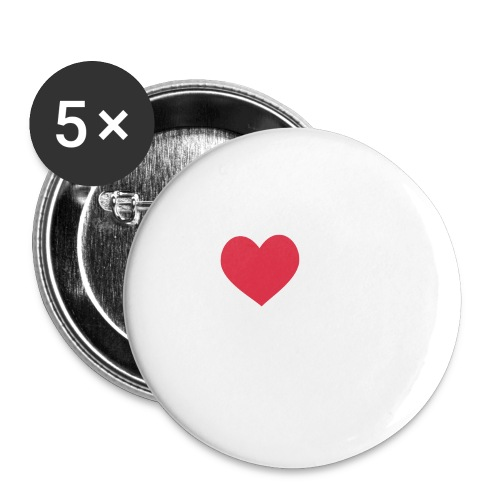 It's a Heart Thing Virginia - Large Buttons