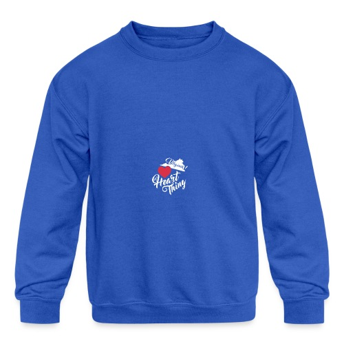 It's a Heart Thing Virginia - Kid's Crewneck Sweatshirt